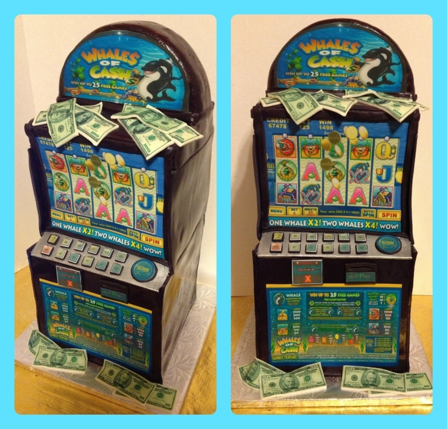 Slot Machine Cake on Cake Central