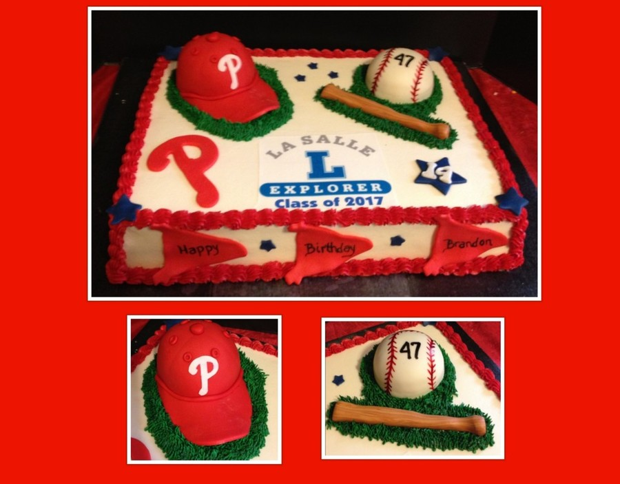 Sports Themed Birthday Sheet Cake on Cake Central