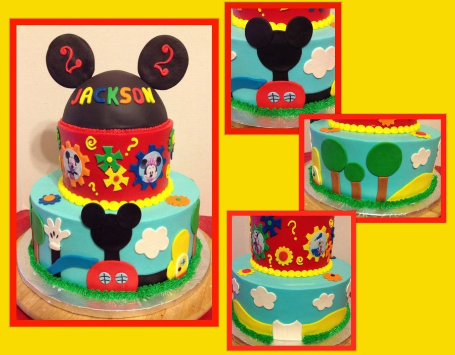 Mickey Mouse Club House Cake on Cake Central