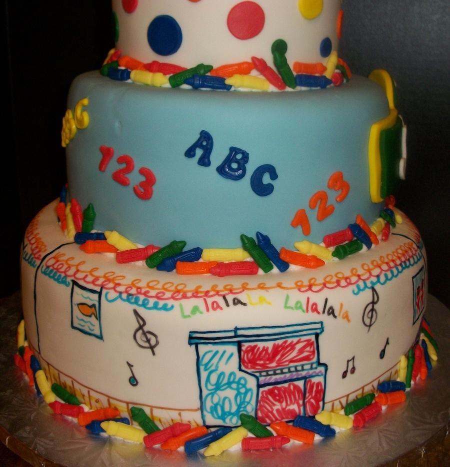Baby Elmo Birthday Cake