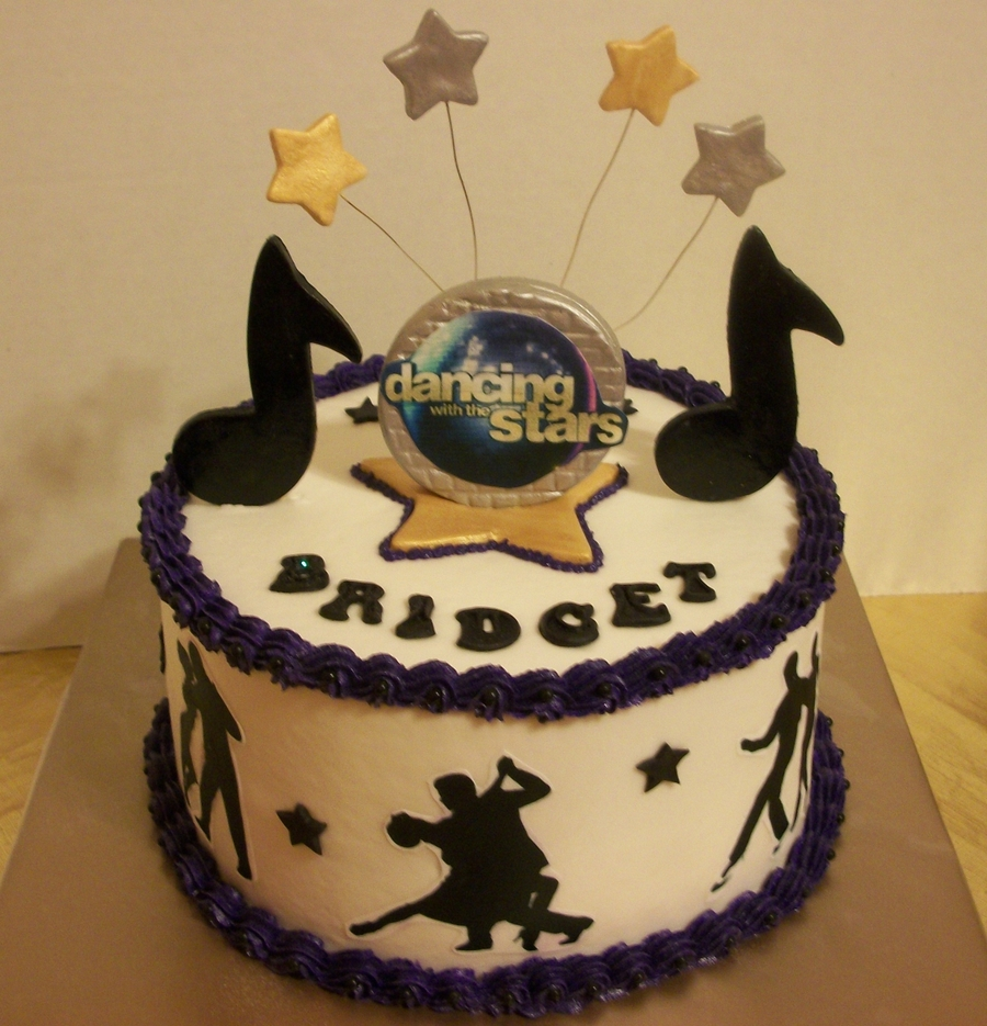 Dancing With The Stars Birthday Cake Cakecentral Com