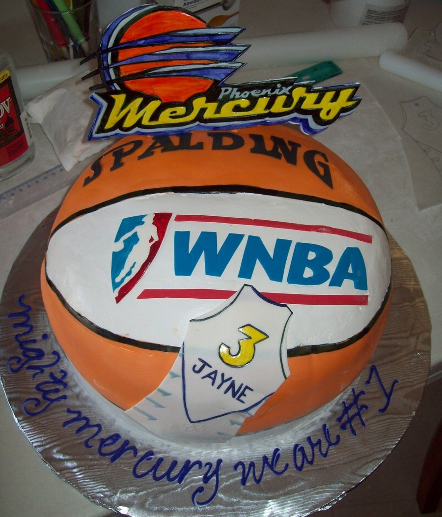 Wnba Phoenix Mercury on Cake Central