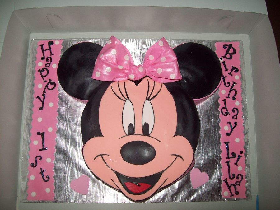 1St Birthday Minnie Mouse on Cake Central