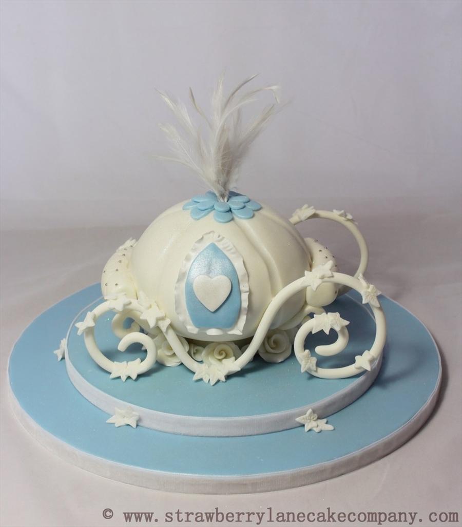 Cinderella Pumpkin Carraige Wedding Cake Cakecentral Com