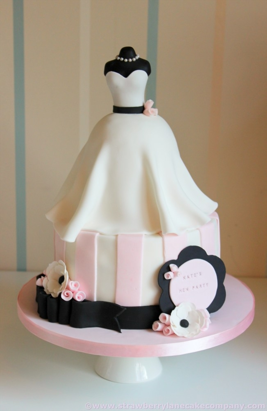 Wedding dress bridal shower cake - Wedding bridal shower ...