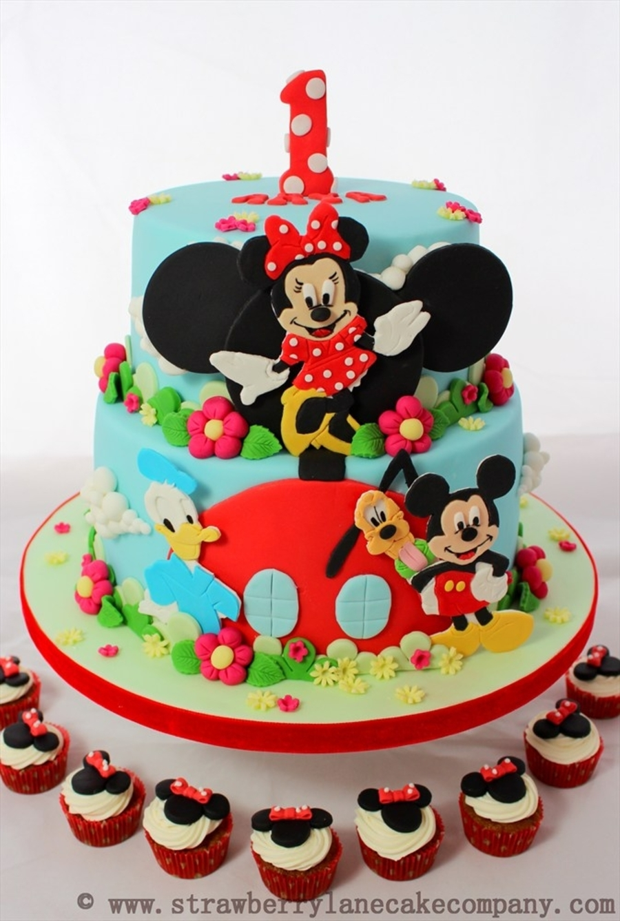mickey mouse cake mickey mouse clubhouse and friends cake for arya 5876