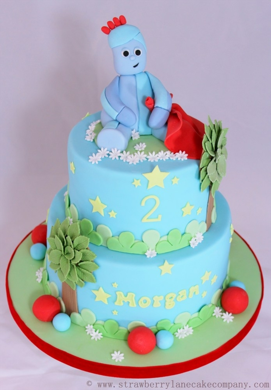 Iggle Piggle In The Night Garden Cake Cakecentral Com