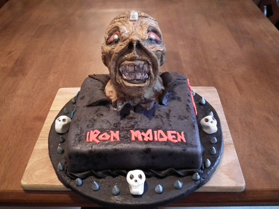 Iron Maiden Birthday Cake Cakecentral Com