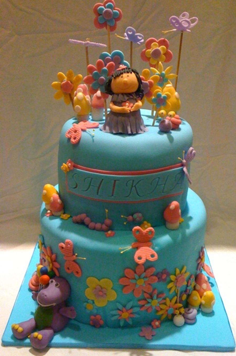 Magical Garden Birthday Party on Cake Central