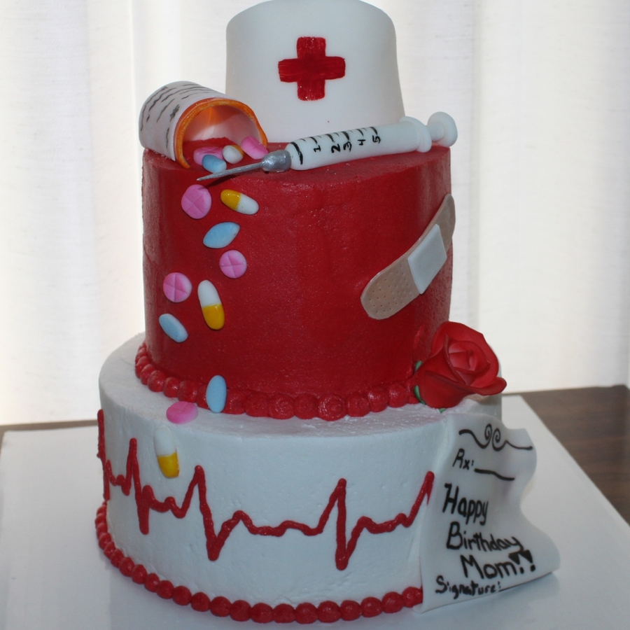Nurses Week And A Birthday on Cake Central