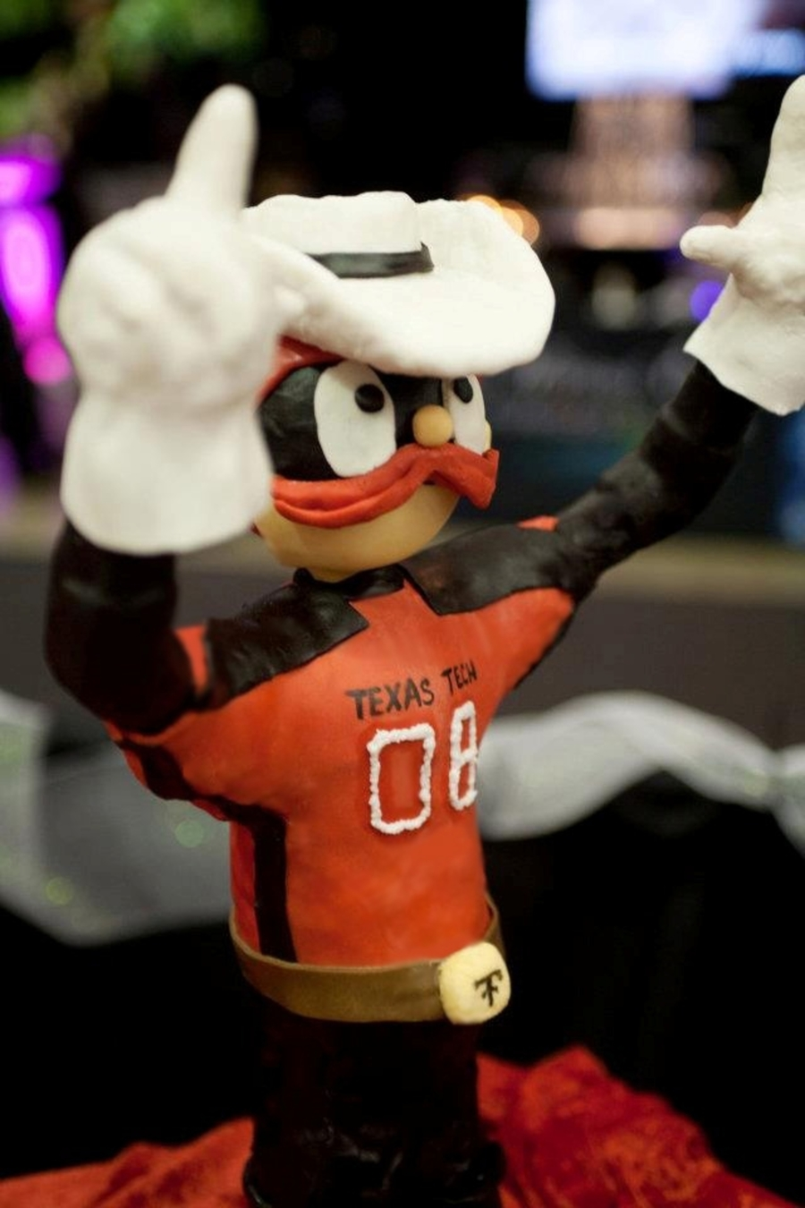 Raider Red 3D Cake on Cake Central