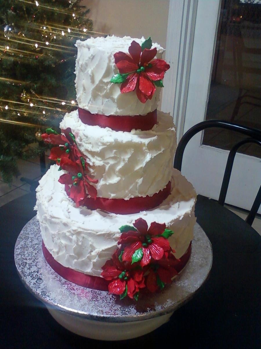 Decorating Wedding Cake With Ribbon