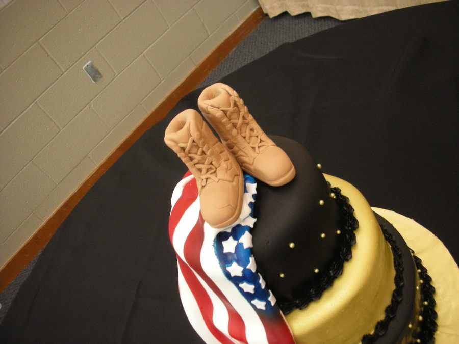 Army Retirement Party Cakecentral Com