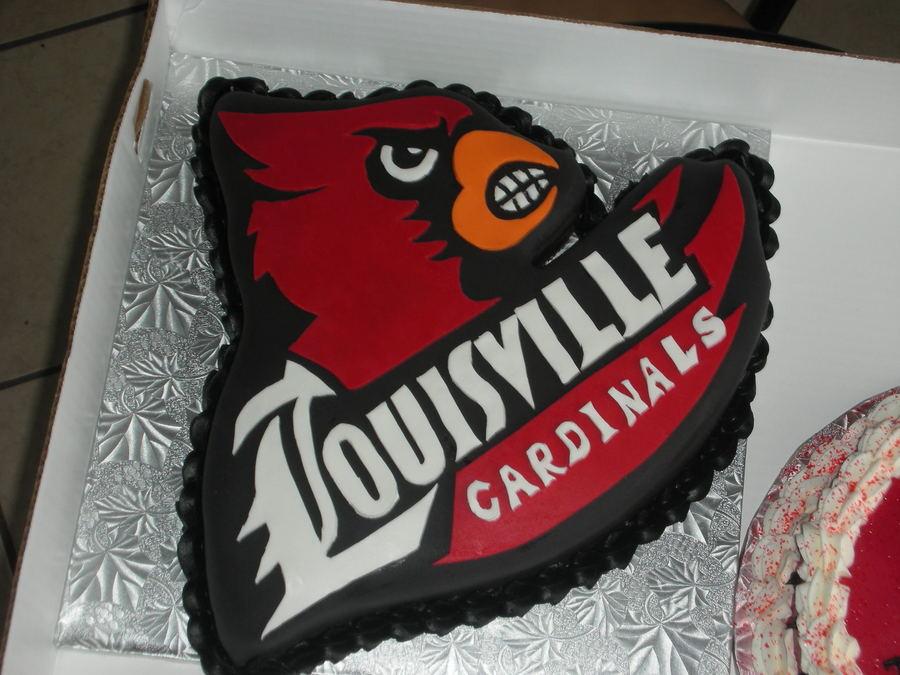 Louisville Cardinal Cake - CakeCentral.com