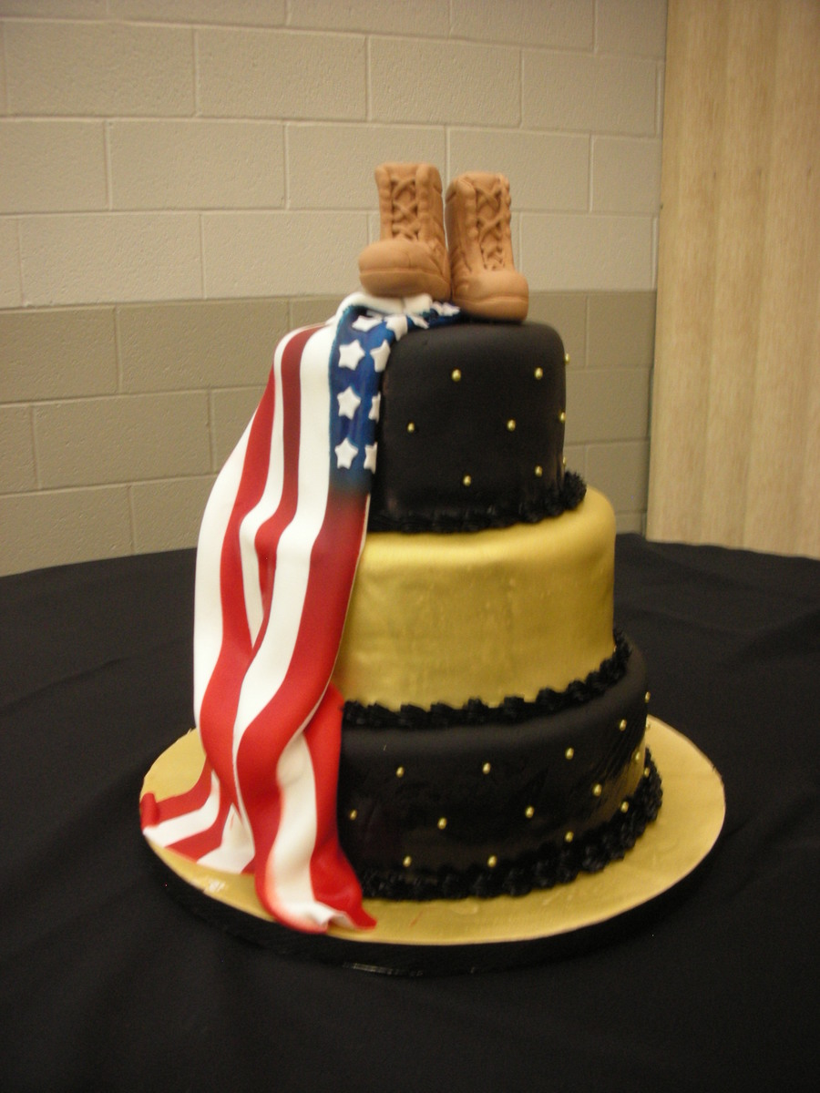 army retirement party