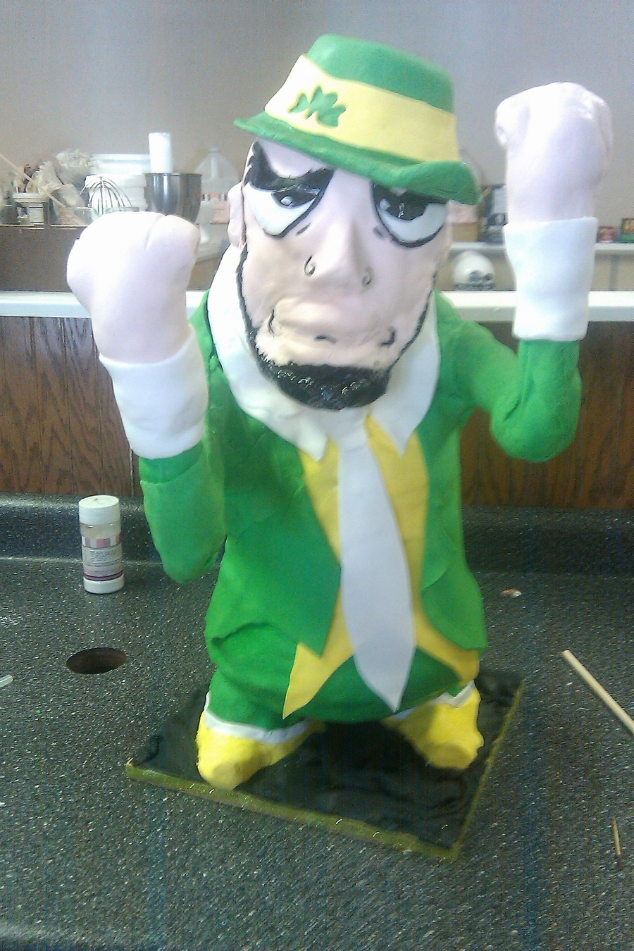 Notre Dame Fighting Irish Man on Cake Central