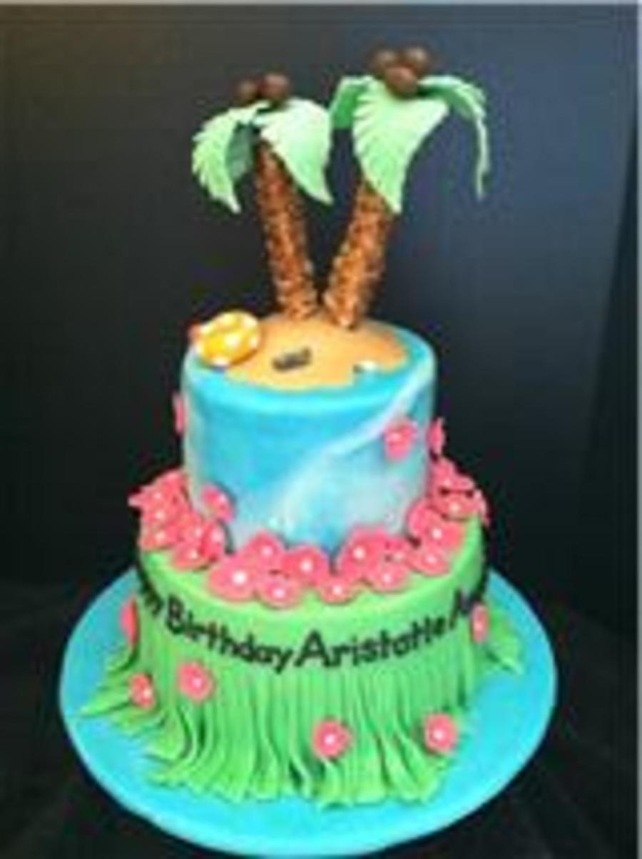 Hawaii Birthday Cake Cakecentral Com