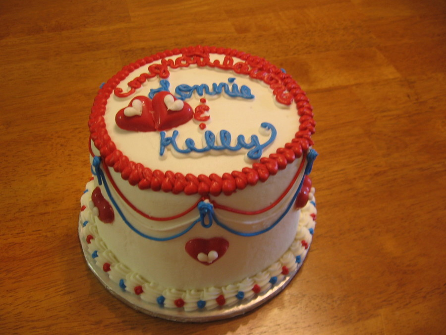 Red,white And Blue  on Cake Central