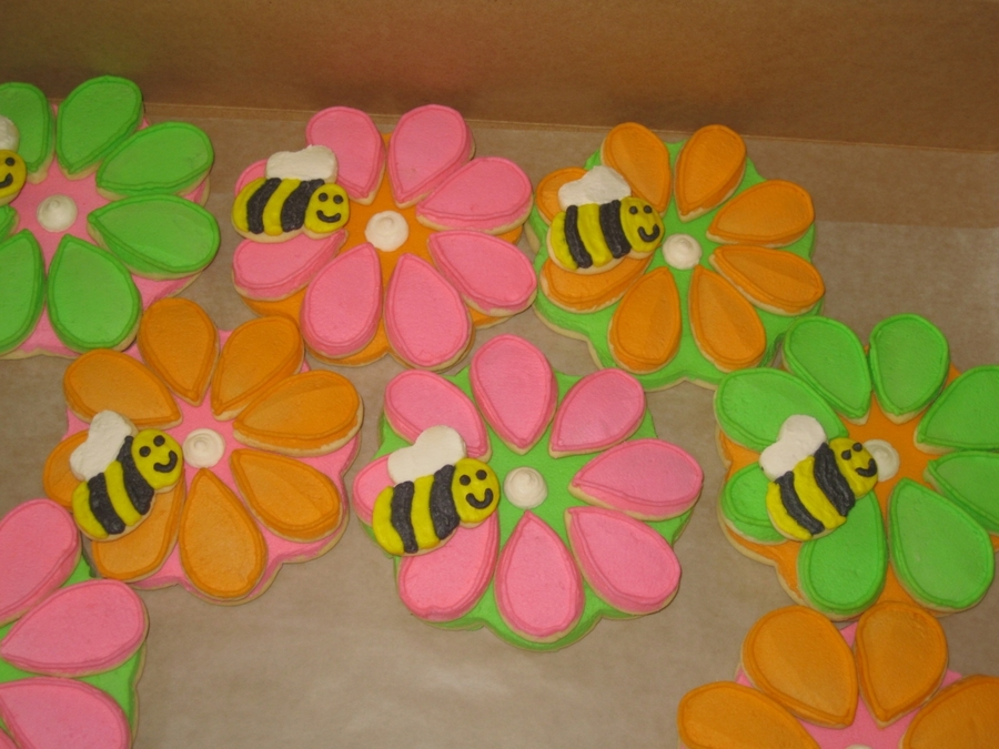 3 Layer Flower Sugar Cookies on Cake Central
