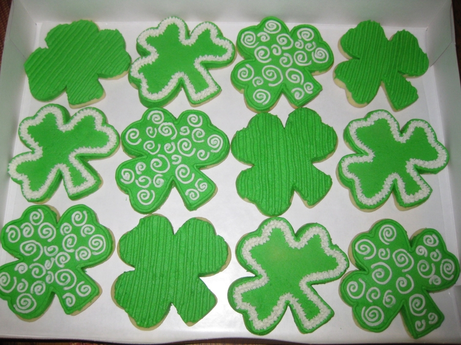Shamrock Sugar Cookies  on Cake Central