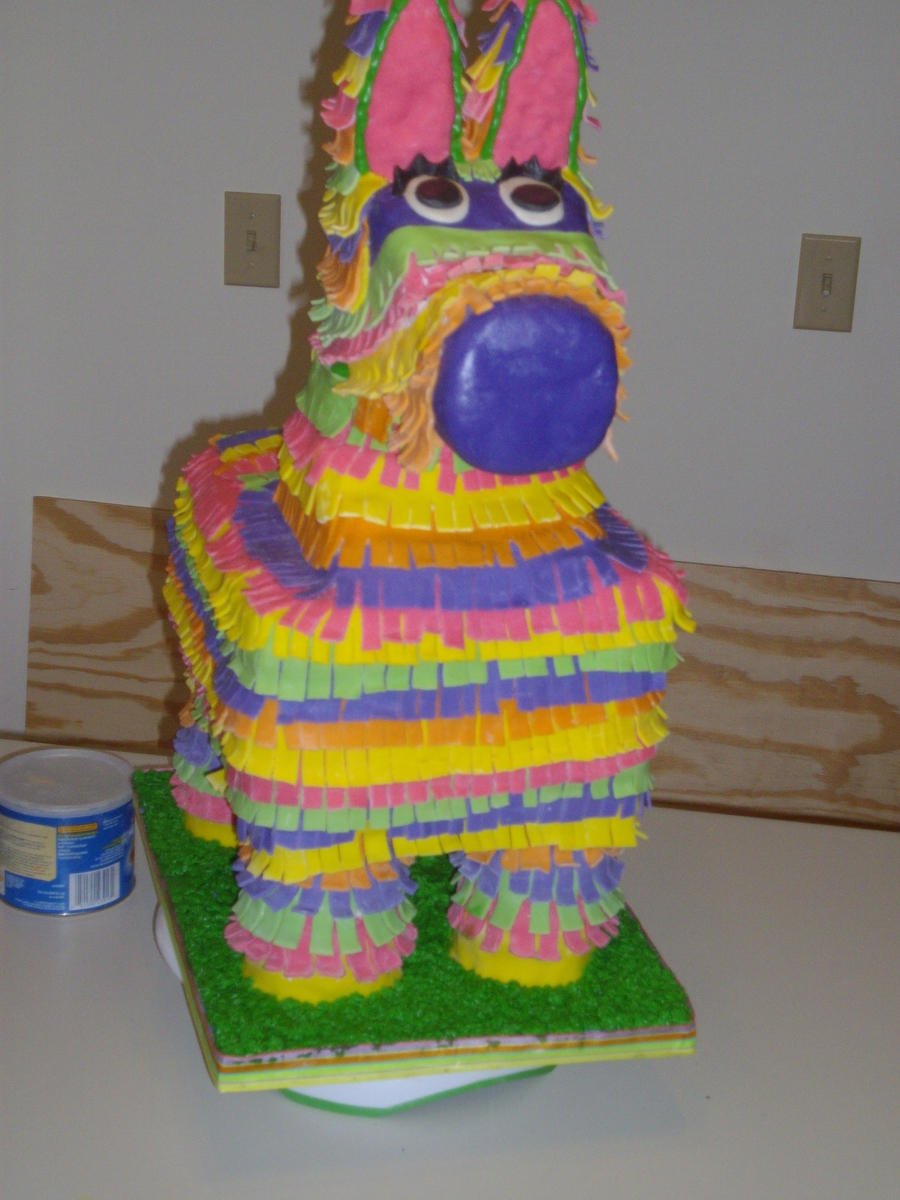 Pinata on Cake Central