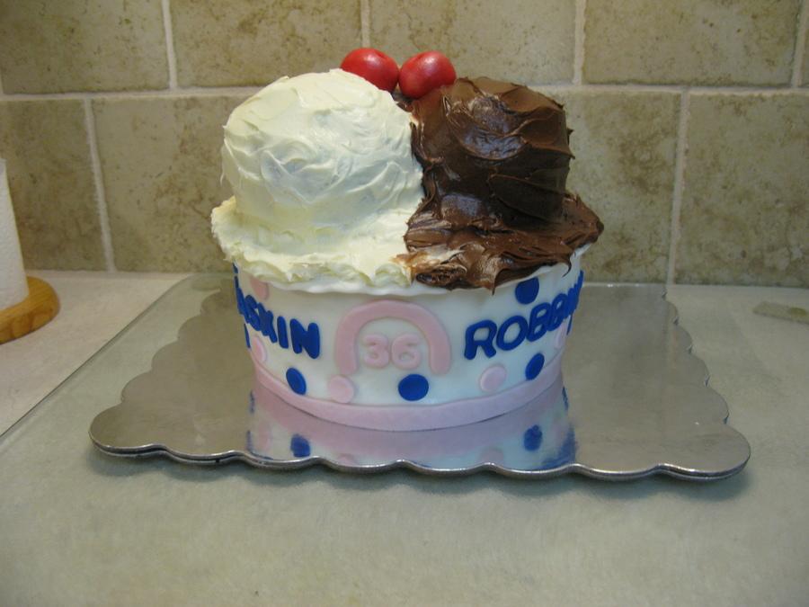 Phenomenal Baskin Robbins Birthday Cake Cakecentral Com Birthday Cards Printable Giouspongecafe Filternl