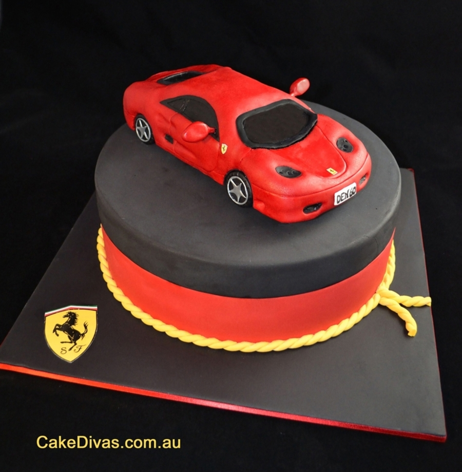 Car Cake For 60th Birthday Cakecentral