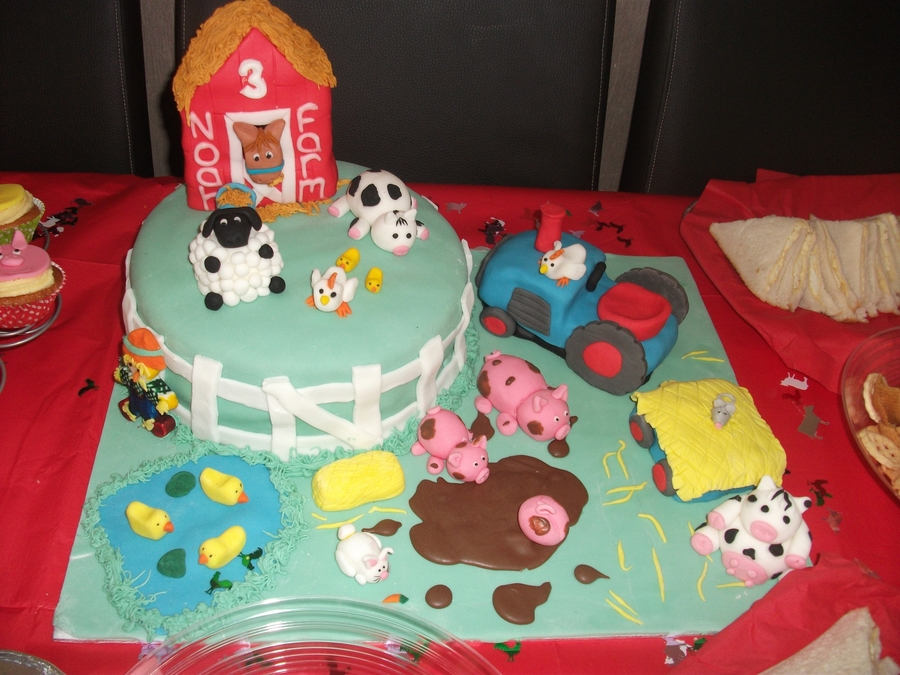 Farmyard Birthday Cake Recipe