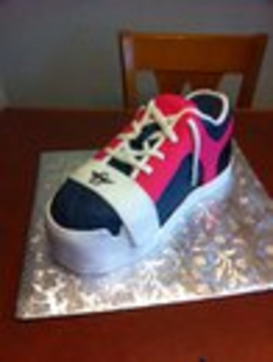Creative Recreation Shoe on Cake Central
