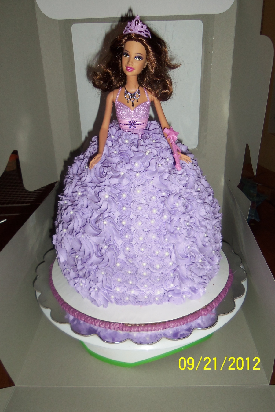 Birthday Barbie on Cake Central