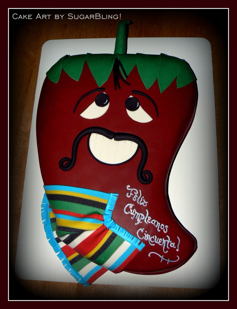 Chili Pepper Birthday on Cake Central