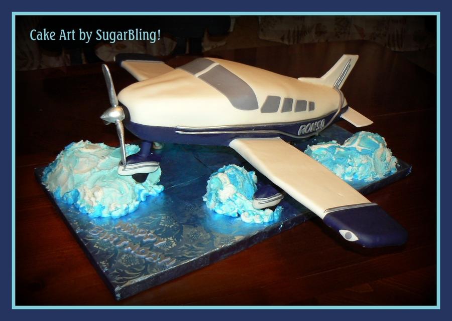 Airplane Birthday Cake Cakecentral Com