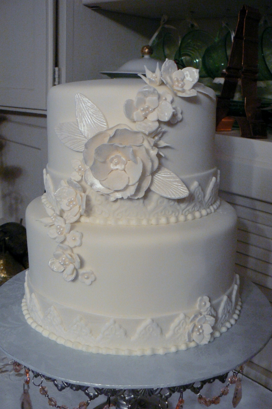 small white wedding cakes small white wedding cake cakecentral 20251