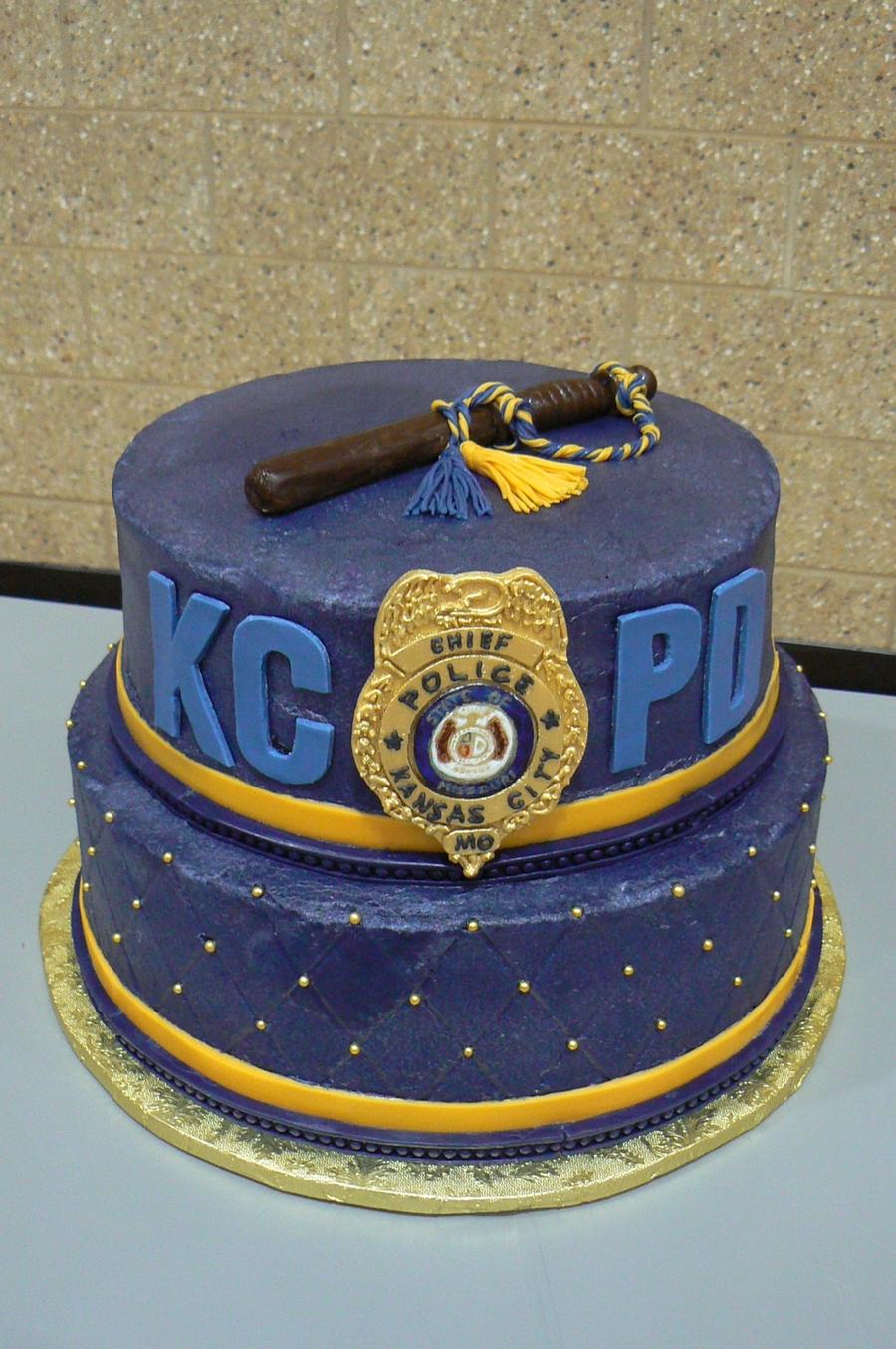 Chief's Retirement Cake on Cake Central