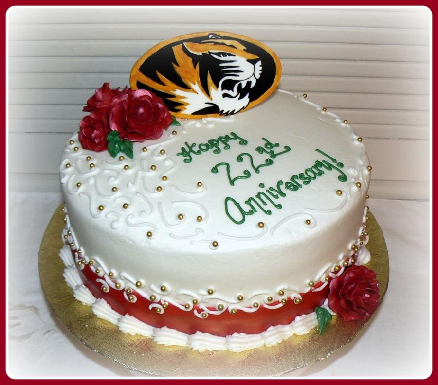 Nd Wedding Anniversary Cake