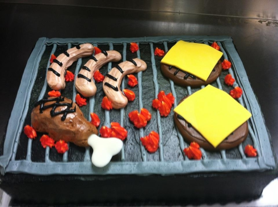 Summer Grillin' on Cake Central