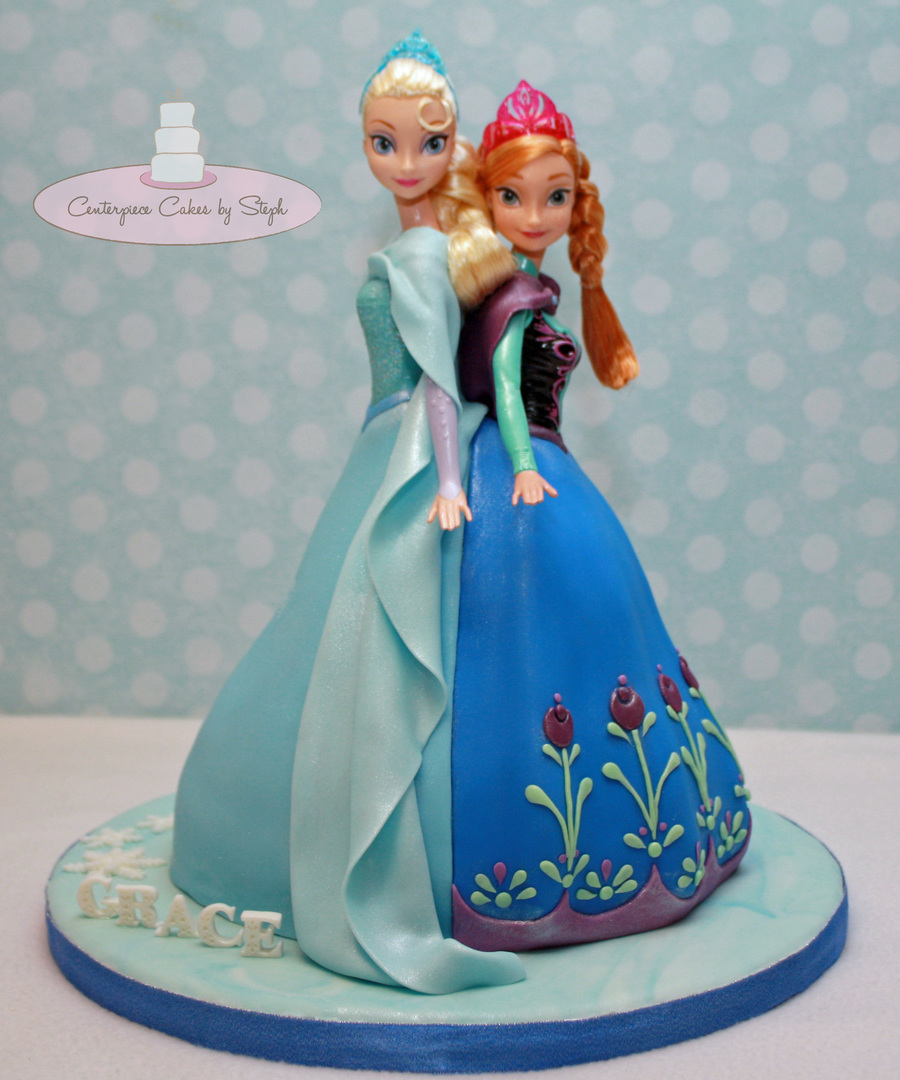 How To Make A Double Doll Cake