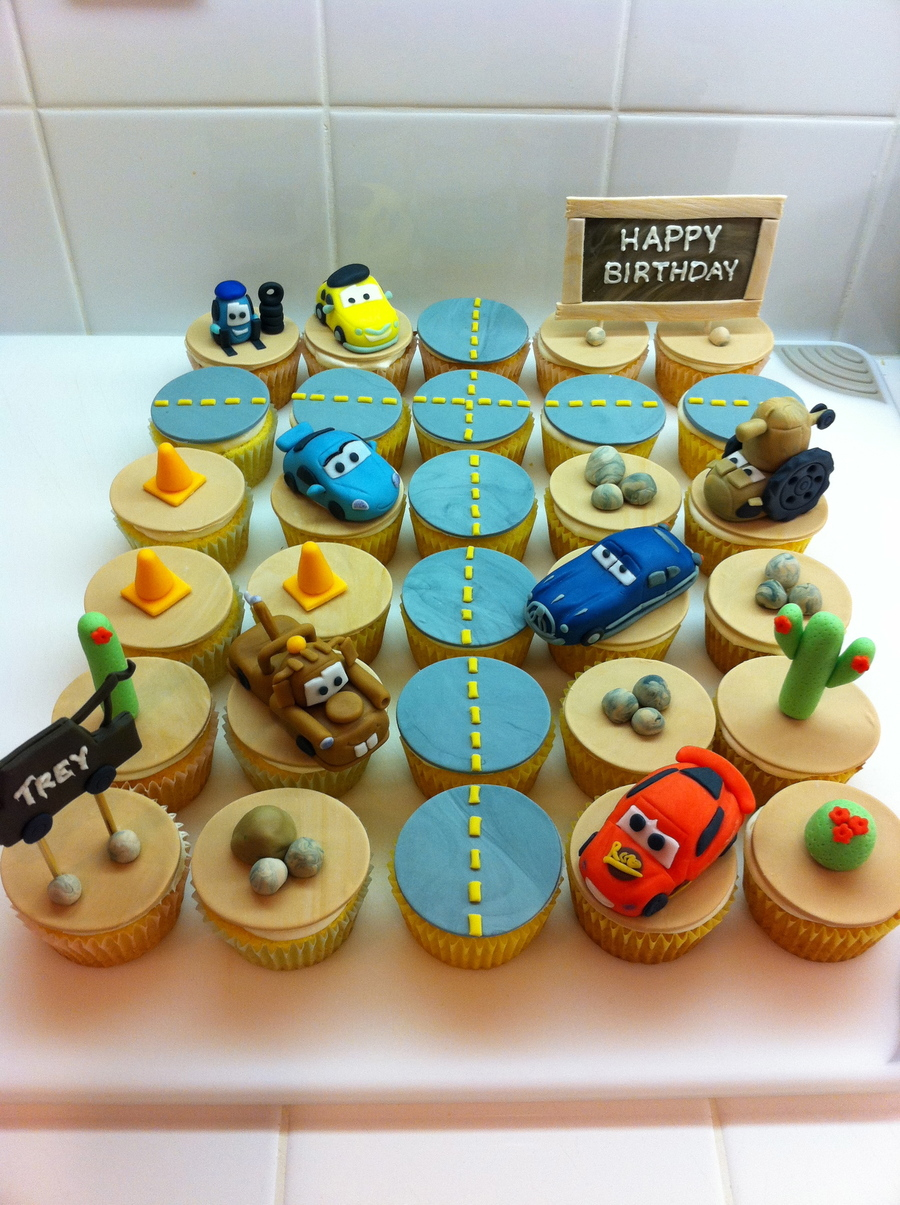 Cars Cupcakes Cakecentral Com