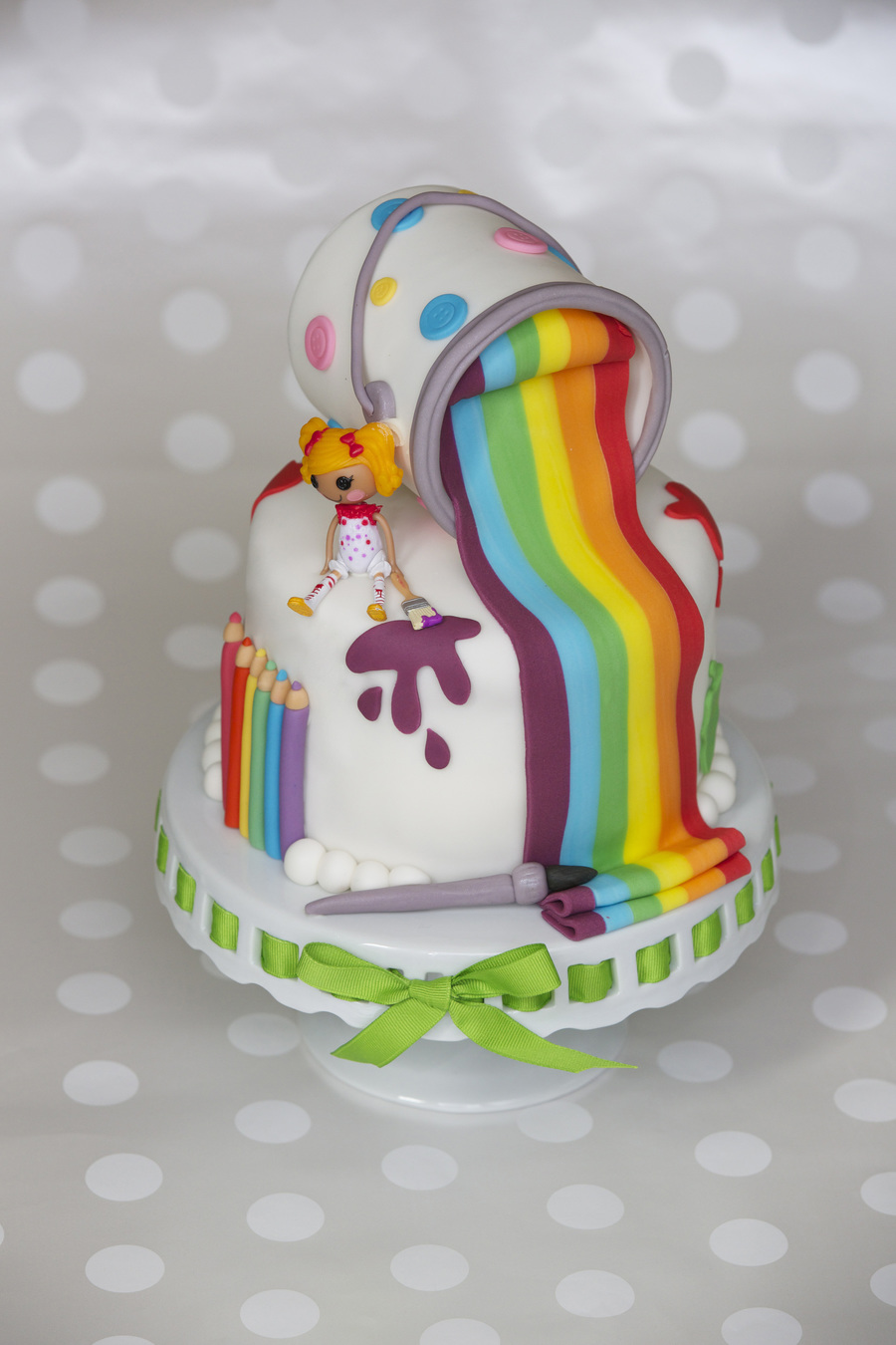 Lalaloopsy Art Cake on Cake Central