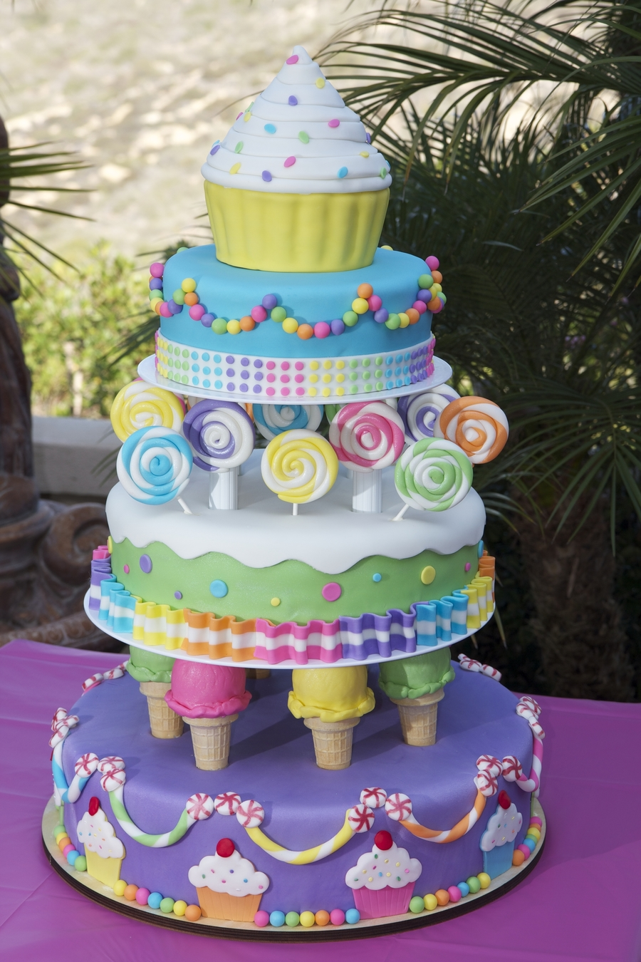 Phenomenal Candy Land Birthday Cakecentral Com Funny Birthday Cards Online Bapapcheapnameinfo