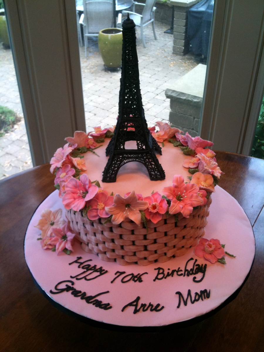 Eiffel Tower Cake Recipe