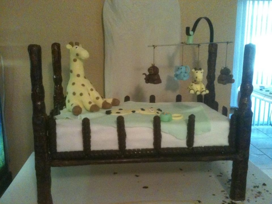 Chocolate Crib on Cake Central