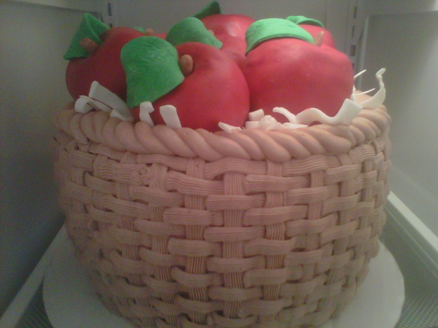 Basket Of Apples on Cake Central