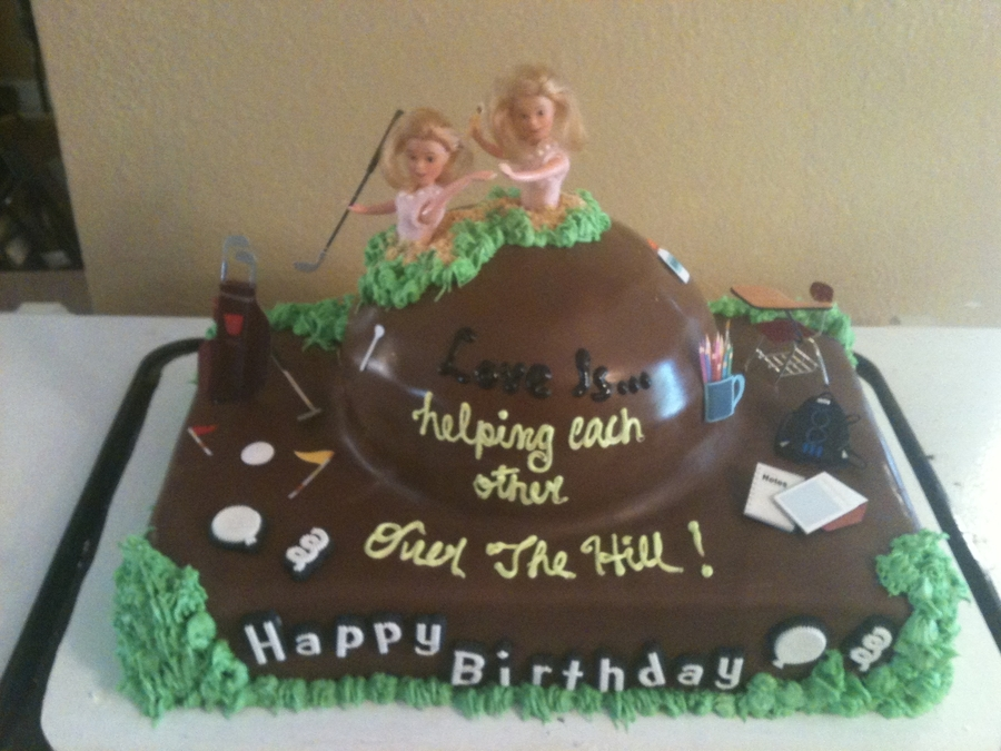 Twins Over The Hill on Cake Central
