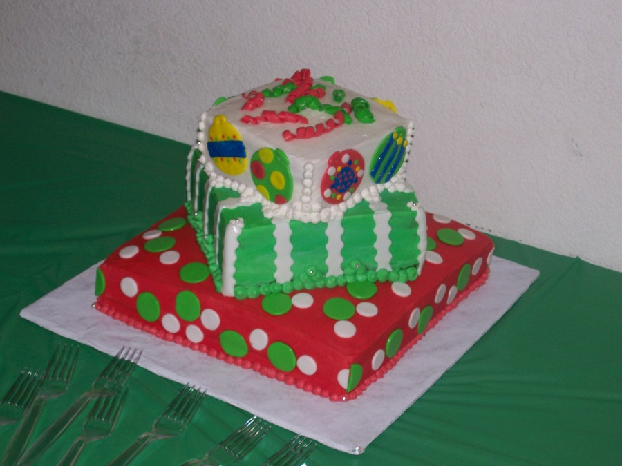Christmas Gifts on Cake Central
