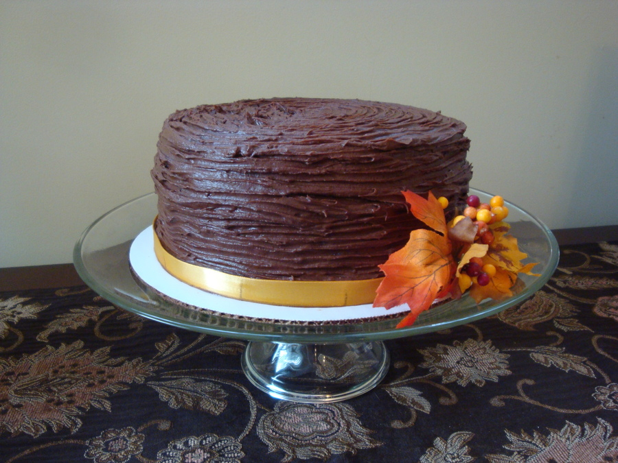 Rustic Fall Ridges  on Cake Central