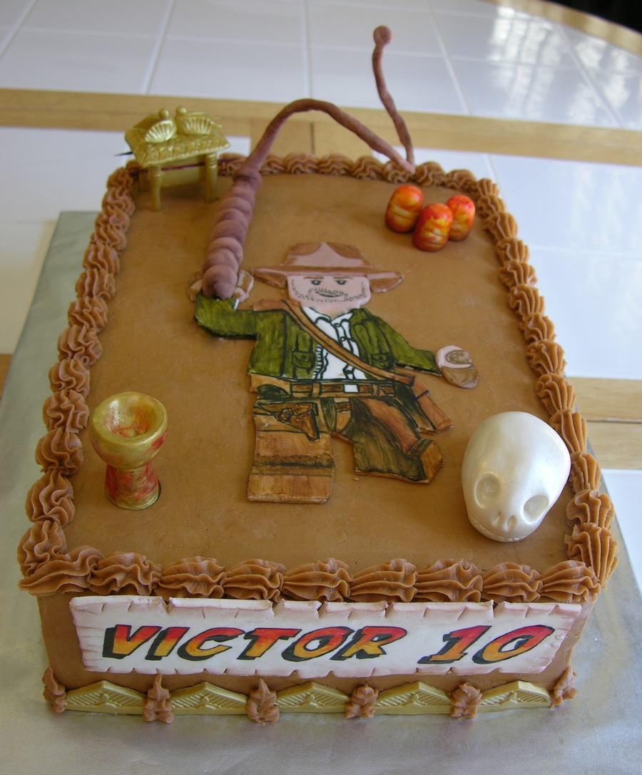 Lego Indiana Jones on Cake Central