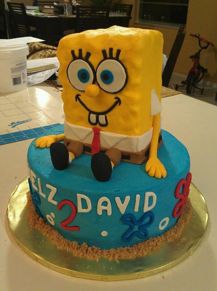 Fondant Decor On Buttercream Cake : Spongebob Cake All Buttercream With Fondant Decorations ...