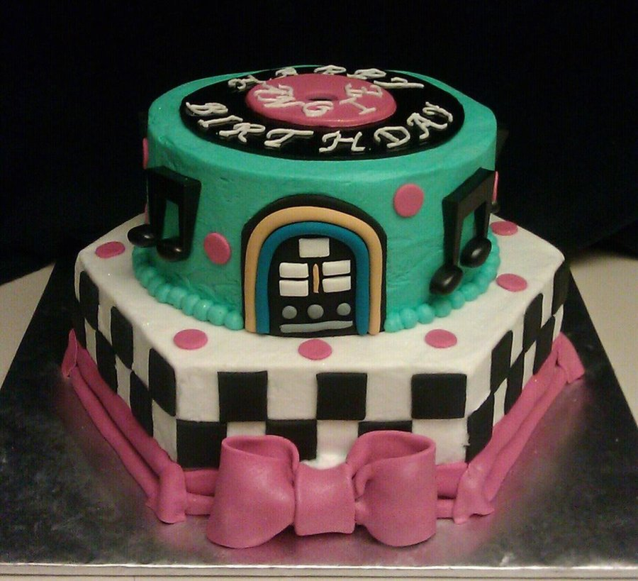 50 S Style Cake Cakecentral Com