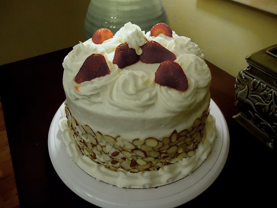 Wasc With Strawberries on Cake Central